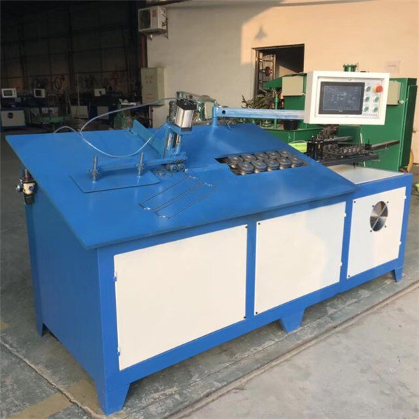 2D CNC 자동 강철 와이어 밴딩기