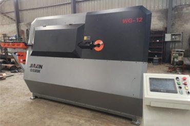 4mm-12mm 유압 cnc 철강 바 벤더, 철근 벤딩 머신, 자동 강철 stirrup 벤딩 머신