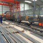 중국에서 만든 간단한 작업 내구성과 튼튼한 품질 보증 철근 철근 케이지 용접 기계 및 강화 케이지 만들기