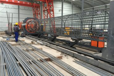 중국에서 만든 간단한 작업 내구성과 튼튼한 품질 보증 스틸 철근 케이지 용접 기계 및 강화 케이지 만들기